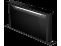 Вытяжка, встраиваемая в столешницу, 90 см, Чёрный Smeg KDD90CNE