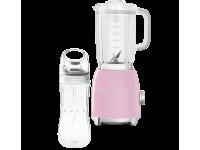 Стационарный блендер, объем кувшина 1,5л, Розовый Smeg BLF01PKEU + переносной контейнер из TritanTM BGF01 в подарок!