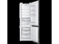 Встраиваемый комбинированный холодильник, Белый Smeg C7280NLD2P1