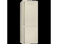 Отдельностоящий холодильник, 70 см, Кремовый Smeg FA8003PO