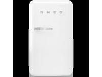 Отдельностоящий однодверный холодильник, стиль 50-х годов, 54,5 см, Белый Smeg FAB10RWH5