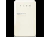 Отдельностоящий однодверный холодильник, стиль 50-х годов, 54,3 см, Кремовый Smeg FAB10RCR2