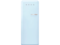 Отдельностоящий однодверный холодильник, стиль 50-х годов, 60 см, Голубой Smeg FAB28LPB3