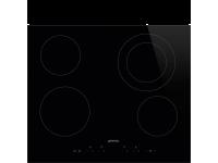 Стеклокерамическая варочная панель, 60 см, Чёрный Smeg SE364ETD