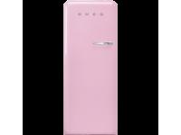 Отдельностоящий однодверный холодильник, стиль 50-х годов, 60 см, Розовый Smeg FAB28LPK3