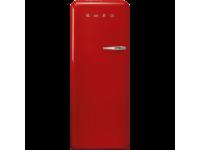 Отдельностоящий однодверный холодильник, стиль 50-х годов, 60 см, Красный Smeg FAB28LRD3