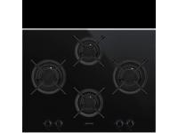 Газовая варочная панель, 65 cм, Чёрный Smeg PV664LCNX