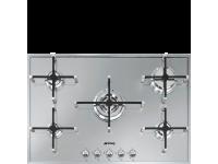 Газовая варочная панель, 74 см, Серебристый Smeg PX7502