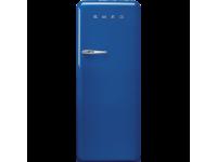 Отдельностоящий однодверный холодильник, стиль 50-х годов, 60 см, Синий Smeg FAB28RBE5