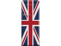 Отдельностоящий однодверный холодильник, стиль 50-х годов, 60 см, Британский флаг Smeg FAB28RDUJ5
