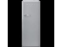 Отдельностоящий однодверный холодильник, стиль 50-х годов, 60 см, Серебристый Smeg FAB28RSV5
