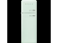 Отдельностоящий двухдверный холодильник, стиль 50-х годов, 60 см, Голубой Smeg FAB30LPG3
