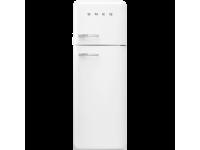 Отдельностоящий двухдверный холодильник, стиль 50-х годов, 60 см, Белый Smeg FAB30RWH3