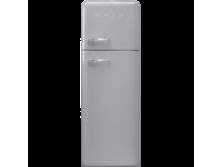 Отдельностоящий двухдверный холодильник, стиль 50-х годов, 60 см, Серый Smeg FAB30RSV3