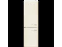 Отдельностоящий двухдверный холодильник, стиль 50-х годов, 60 см, Кремовый Smeg FAB32LCR3