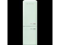 Отдельностоящий двухдверный холодильник, стиль 50-х годов, 60 см, Зеленый Smeg FAB32LPG5