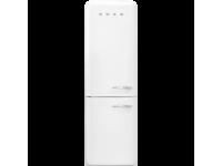 Отдельностоящий двухдверный холодильник, стиль 50-х годов, 60 см, Белый Smeg FAB32LWH3