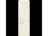 Отдельностоящий двухдверный холодильник, стиль 50-х годов, 60 см, Кремовый Smeg FAB32RCR3