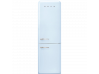Отдельностоящий двухдверный холодильник, стиль 50-х годов, 60 см, Голубой Smeg FAB32RPB3