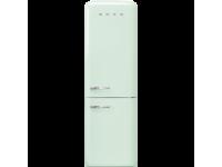 Отдельностоящий двухдверный холодильник, стиль 50-х годов, 60 см, Светло-зеленый Smeg FAB32RPG3