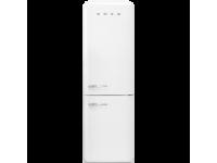 Отдельностоящий двухдверный холодильник, стиль 50-х годов, 60 см, Белый Smeg FAB32RWH3