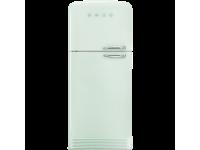 Отдельностоящий двухдверный холодильник, стиль 50-х годов, 80 см, Светло-зеленый Smeg FAB50LPG