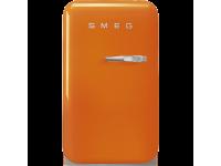 Отдельностоящий минибар, Оранжевый Smeg FAB5LOR3, стиль 50-х гг.