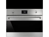 Встраиваемая микроволновая печь, 60 см, Нержавеющая сталь Smeg SF4390MX