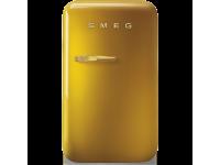 Отдельностоящий минибар, Золотой Smeg FAB5RDGO3, стиль 50-х гг.