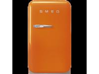 Отдельностоящий минибар, Оранжевый Smeg FAB5ROR5, стиль 50-х гг.