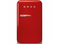 Отдельностоящий минибар, Красный Smeg FAB5RRD3, стиль 50-х гг.