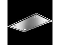 Вытяжка потолочного крепления, 90 см, Нержавеющая сталь Smeg KSCB90XE