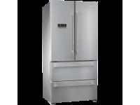 Отдельностоящий холодильник с французской дверью, Нержавеющая сталь Smeg FQ55FXE1