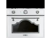 Встраиваемая микроволновая печь, 60 см, Белый Smeg SF4750MBS