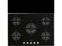 Газовая варочная панель, 72 см, Чёрный Smeg PV175N2