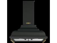 Вытяжка настенная декоративная, 59,5 см, Антрацит Smeg KC16AOE
