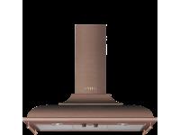 Вытяжка настенная декоративная, 89,5 см, Медный Smeg KC19RAE