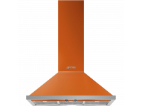 Вытяжка настенная, 90 см, Оранжевый Smeg KPF9OR