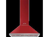 Вытяжка настенная, 90 см, Красный Smeg KPF9RD