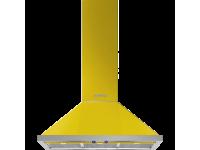 Вытяжка настенная, 90 см, Жёлтый Smeg KPF9YW