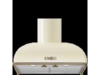 Вытяжка настенная, 60 см, Кремовый Smeg KS59POE