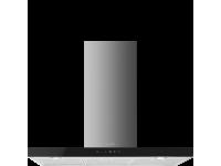 Вытяжка настенная, 90 см, Чёрный Smeg KS905NXE2