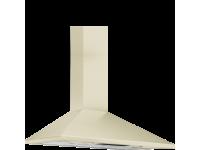 Вытяжка настенная, 90 см, Кремовый Smeg KSED95PE