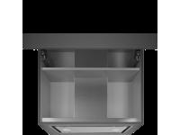 Встраиваемая вытяжка, 56 см, Белый Smeg KSGT56B