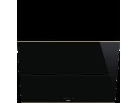 Вытяжка настенная, 90 см, Чёрный Smeg KSVV90NRA