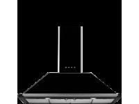 Вытяжка настенная, 110 см, Чёрный Smeg KT110BLE