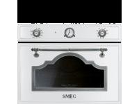 Компактный духовой шкаф, комбинированный с пароваркой, 60 см, Белый Smeg SF4750VCBS