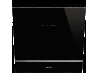 Вытяжка настенная, 60 см, Чёрный Smeg KV26N