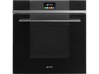 Встраиваемый духовой шкаф, 59,7 см, Чёрный Smeg SFP6104TVN