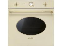 Многофункциональный духовой шкаф, 60 см, Кремовый Smeg SF800P
